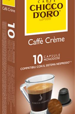 NESPRESSO® Kompatible Kaffeekapseln Chicco D'Oro Cafè Crème