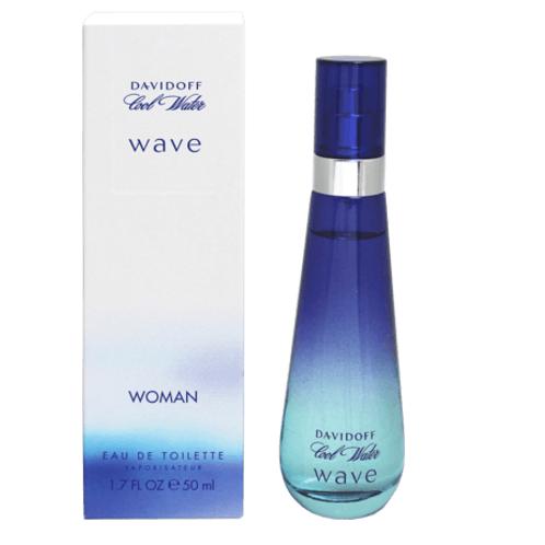 Davidoff Eau de Toilette Cool Water Wave Woman, 50 ml