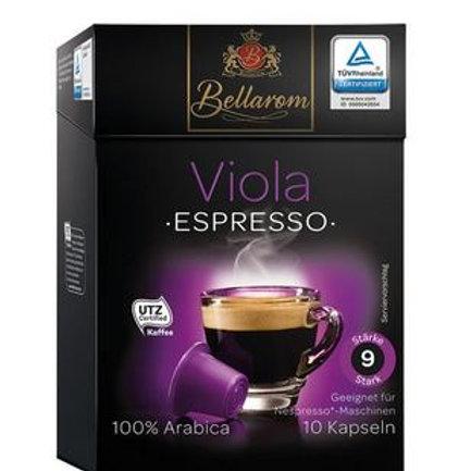 Nespresso® Kompatible Kapsel von Bellarom VIOLA  Espressso