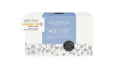 Lillydoo Premium Baby Nummer 2 Windeln 3-6 Kilo 37 Stück.