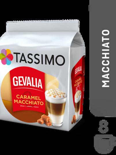 Jacobs Caffé Gevalia Latte Macchiato Caramel System TASSIMO