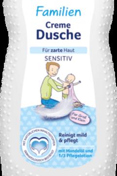 Bübchen Familien Cremedusche für zarte Haut Sensitiv 230 ml