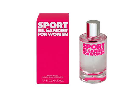 Jil Sander Eau de Toilette Sport woman, 50 ml
