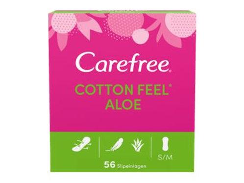Carefree Slipeinlage Cotton Feel Aloe Vera, 56 St