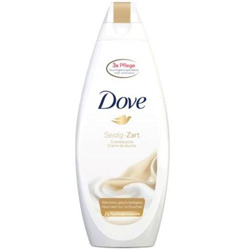 Dove shower cream silky-soft, 250 ml