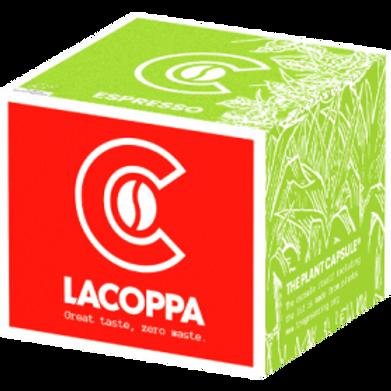 NESPRESSO® Kompatible Kapsel LACOPPA ESPRESSO BIO (Kompostierbar)