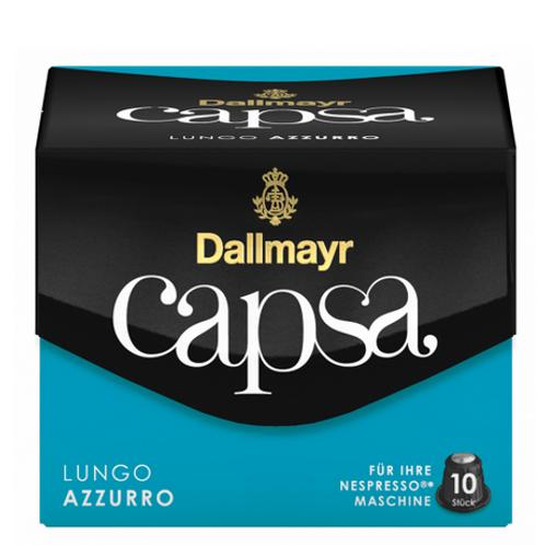 Nespresso® Kompatible Kapsel von Dallmayr Capsa Lungo Azzurro
