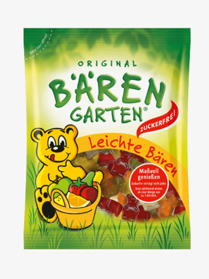 Bärengarten Fruchtgummi, Leichte-Bären, 150 g