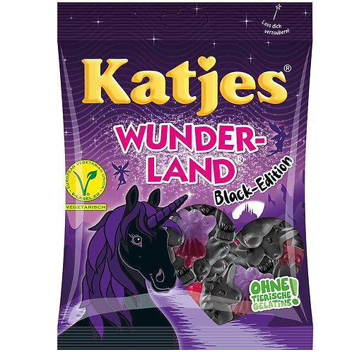 Katjes Wunderland Black Edition, Beutel 200 gramm