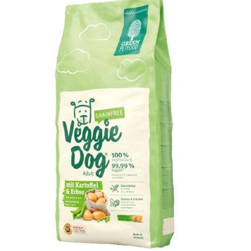 Green Petfood Trockenfutter für Hunde, getreidefrei, VeggieDog, mit Kartoffel &