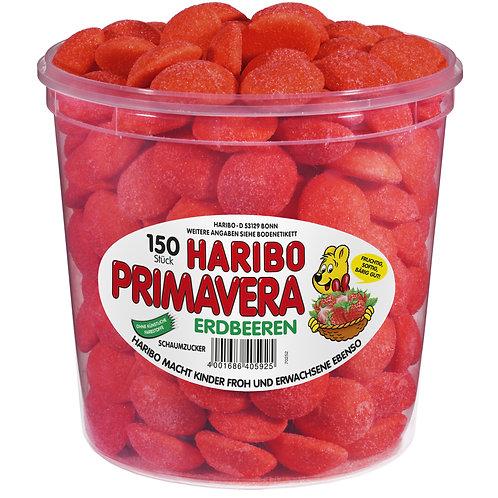 HARIBO PRIMAVERA ERDBEEREN Dose 150 Stk