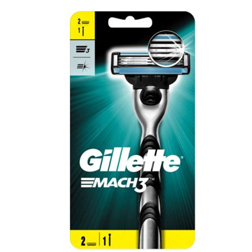 Gillette Mach3 Rasierer + 1 Klinge, 1 St
