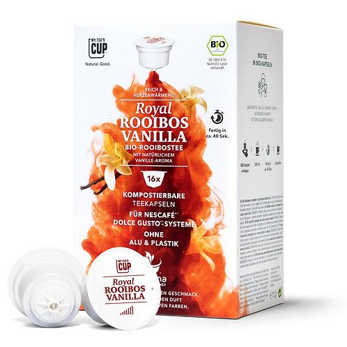 Nespresso® kompatible Teekapseln MY-TEACUP Royal Rooibos Vanilla