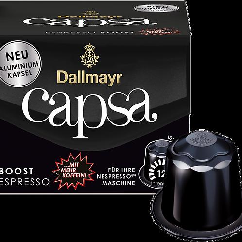 Nespresso® kompatible Kapsel Capsa von Dallmayr BOOST ESPRESSO