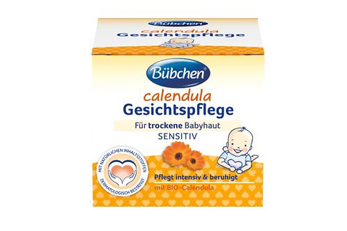 Bübchen Pflegecreme Calendula Gesichtpflege Creme, 75 ml
