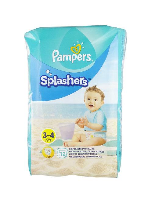 Pampers Splashers Grösse 3-4 Schwimmwindeln 12 Stück