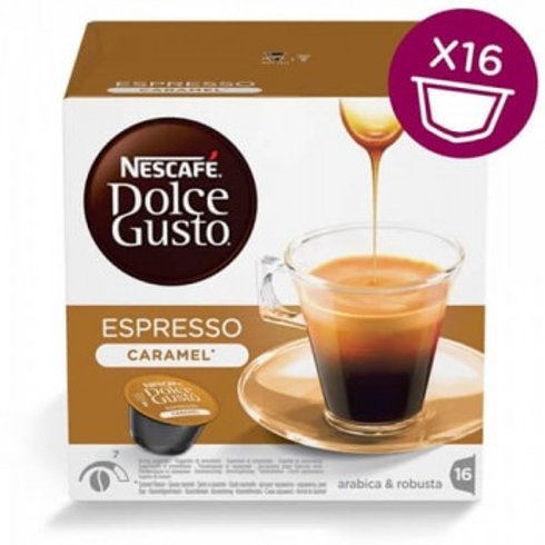 Dolce Gusto Kapsel von Nescafé Espresso Caramel
