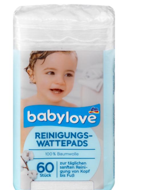 Babylove Reinigungs-Wattepads (60 stück)
