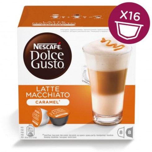 Dolce Gusto Kapsel von Nescafé Latte Macchiato Caramel