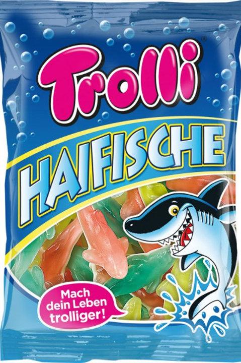 Trolli Gummi Haifische, Beutel 200g