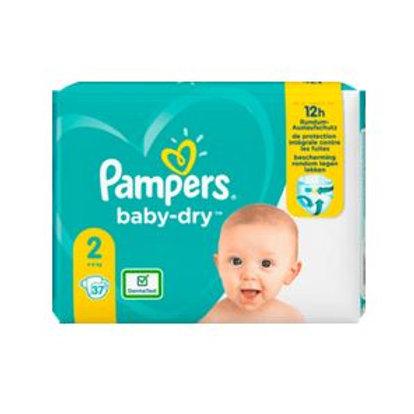 Windeln Pampers Baby-Dry, Grösse 2 Mini, 4-8kg, Einzelpack, 37 St