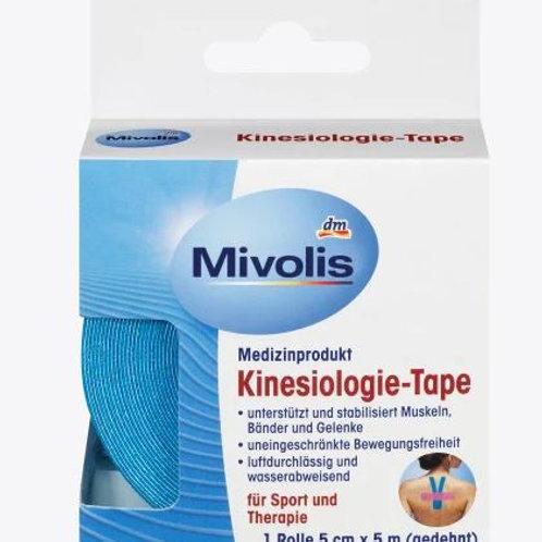 Mivolis Kinesiologie-Tape, 1 Rolle, 5 m