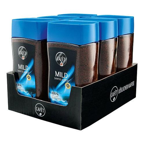 Cafet Instantkaffee Samtig & Mild 200 g