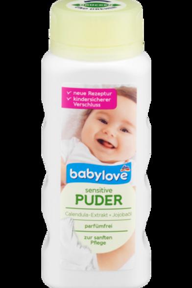 Babylove Talk Puder sensitive, 100 g
