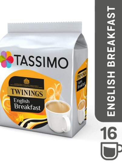 Jacobs Caffé Twinings English Breakfast TEE System TASSIMO