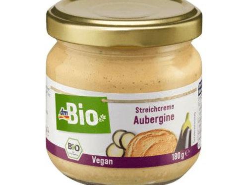 dmBio Aufstrich, Streichcreme Aubergine, 180 g Glutenfrei