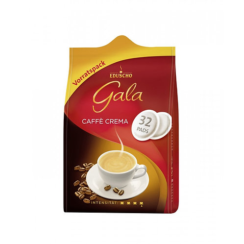 Pads von EDUSCHO Gala Café Crema (32 Stück Inhalt)