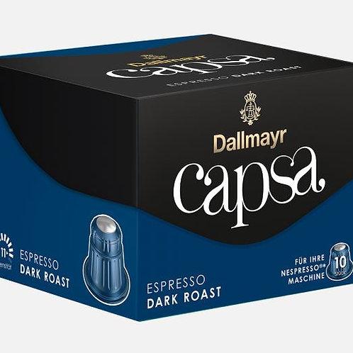 Nespresso® Kompatible Kapsel von Dallmayr Capsa ESPRESSO DARK ROAST