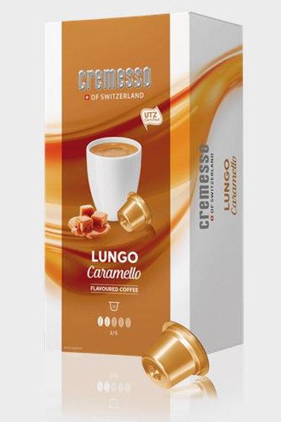 DELIZIO® Kompatible Kapsel CREMESSO *LUNGO CARAMELLO*