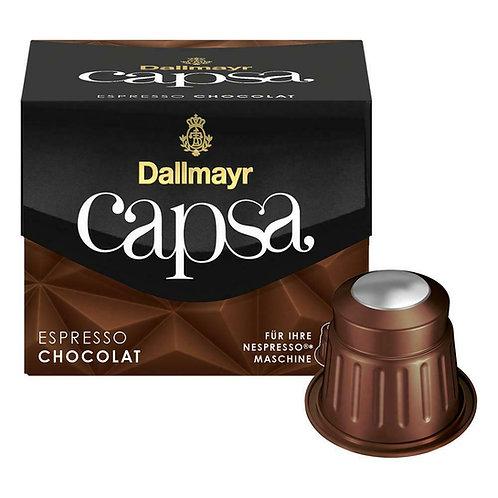 Nespresso® kompatible Kapsel von Dallmayr Capsa Espresso Chocolat