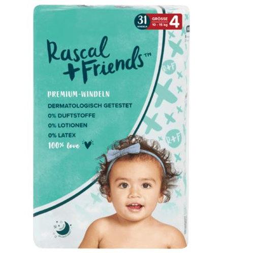 Rascal+Friends Windeln Grösse 4, 10-15 kg, 31 St