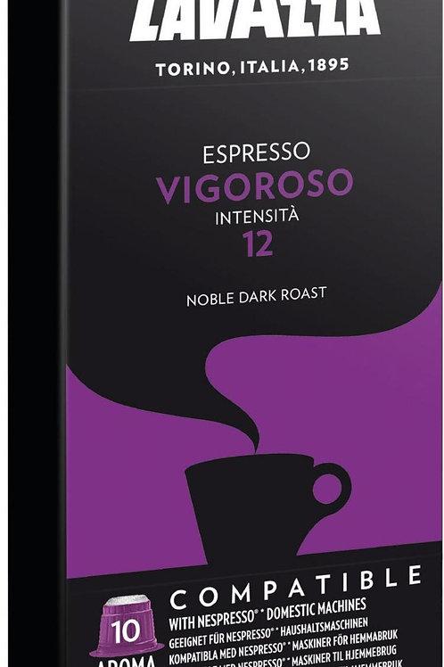 Nespresso® kompatible Kapsel von Lavazza VIGOROSO INTENSO