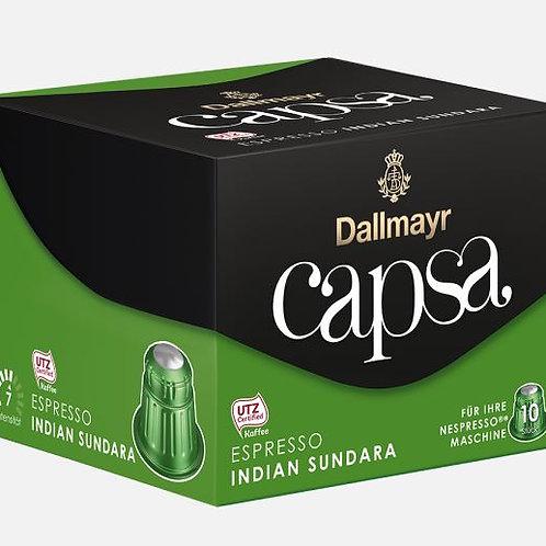 Nespresso® Kompatible Kapsel von Dallmayr Capsa ESPRESSO INDIAN SUNDARA