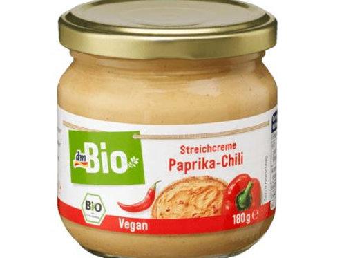 dmBio Aufstrich, Streichcreme Paprika-Chili, 180 g Glutenfrei