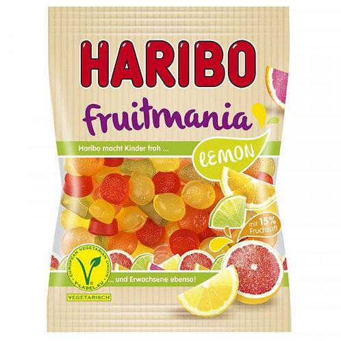 Haribo Fruitmania Lemon Vegetarisch, Beutel 175 gramm