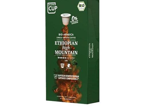 Nespresso® kompatible Kaffeekapseln MY-Coffeecup Ethiopia