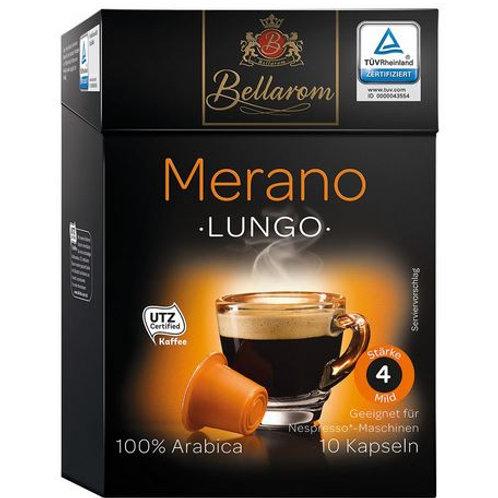 Nespresso® Kompatible Kapsel von Bellarom MERANO Lungo