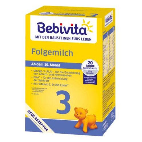 Bebivita Folgemilch 3 ab 10. Monat, 0,5 kg