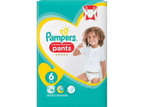Pampers Premium Protection PANTS Jumbo 6 X-Large 16 Stk.
