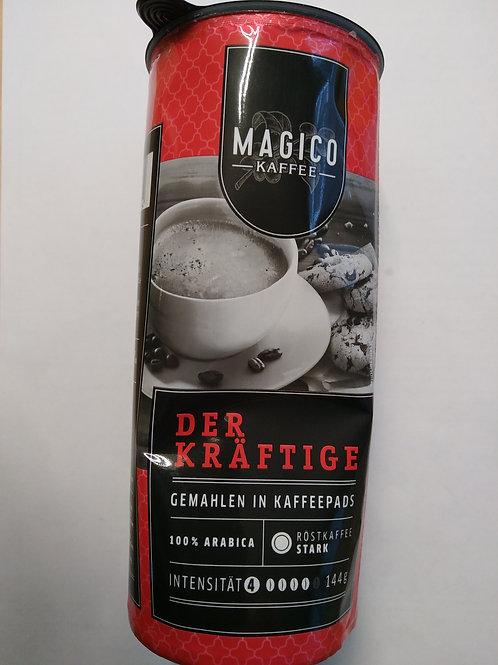 Pads von Magico 100% Arabica kräftig