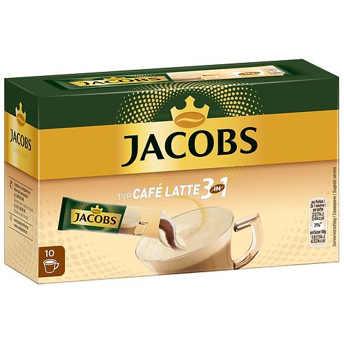 Jacobs 3in1 Sticks Cafe Latte 125g Instantkaffee