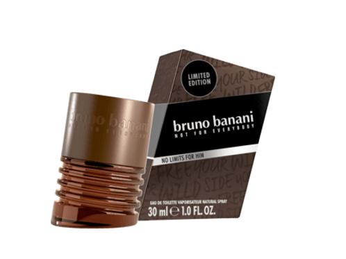 Bruno Banani Eau de Toilette Man No Limits, 30 ml