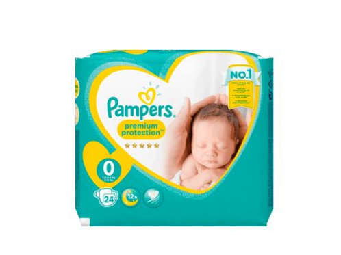Pampers Premium Protection 0 New Micro