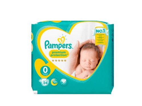 Pampers Premium Protection Grösse 0 Micro, 1-2,5 kg, 24 St