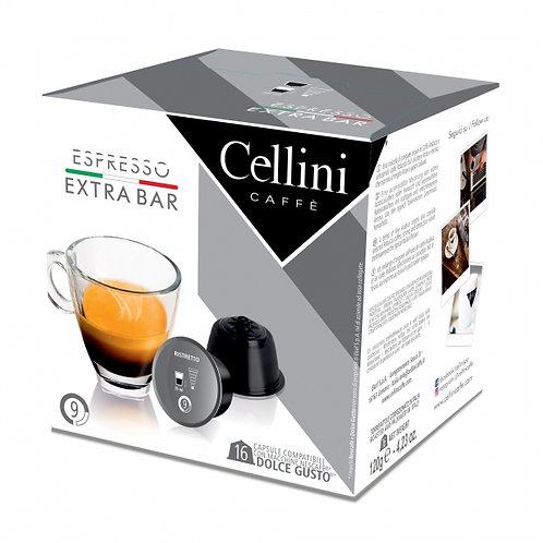 Dolce Gusto kompatible Kaffeekapsel Cellini Espresso Extra Bar