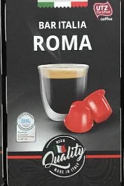 NESPRESSO® Kompatible Kaffeekapseln AMAROY Bar Italia ROMA